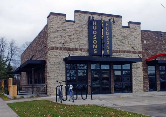 Hudson's is located on Hudson Avenue at 482 Highway 1 in Iowa City. -- photo by Adam Burke
