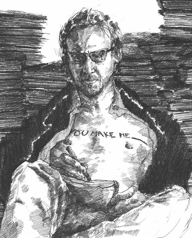 Richard Hell -- Illustration by Jacob Yeates