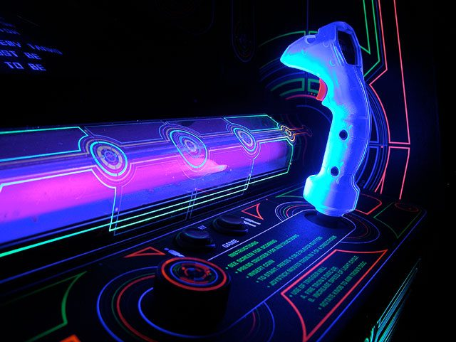 Tron game -- photo by Chris Ainsworth