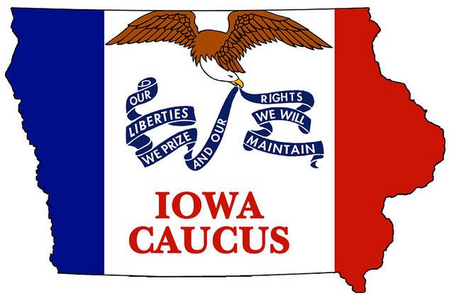 The Iowa caucuses are here at last. -- photo by DonkeyHotey