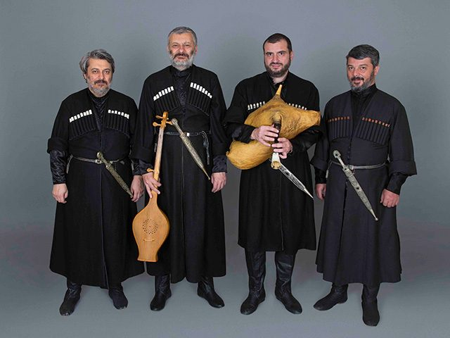 A Georgian quartet, the Anchiskhati Ensemble, will perform at St. Raphael Orthodox Church in Iowa City on Thursday, Feb. 25, 2016 at 7:30 p.m.