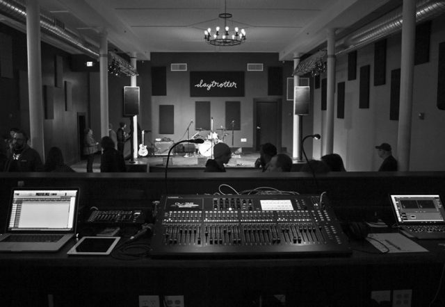 Daytrotter sound and stage -- photo by Matthew Terry