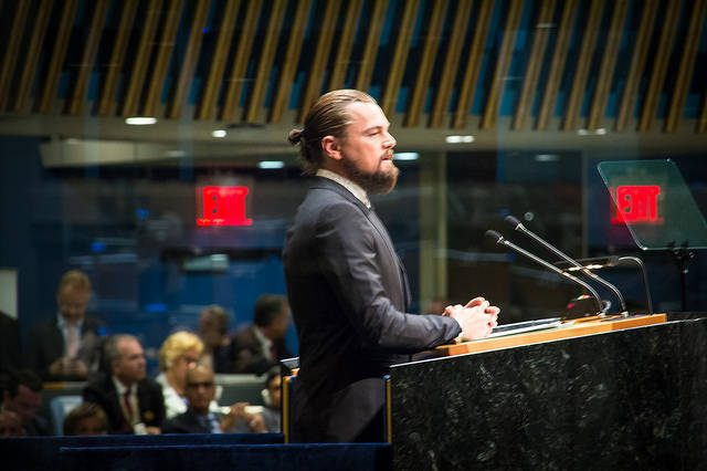 Leonardo DiCaprio, not yet a Johnson County resident -- photo by John Gillespie