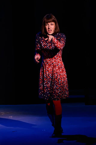 Nikki Stewart as Natalie in 'Next to Normal'