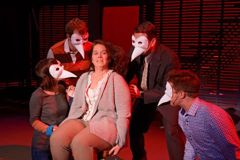 The cast of TCR's 'Next to Normal.' Photos by Struttmann Photo.