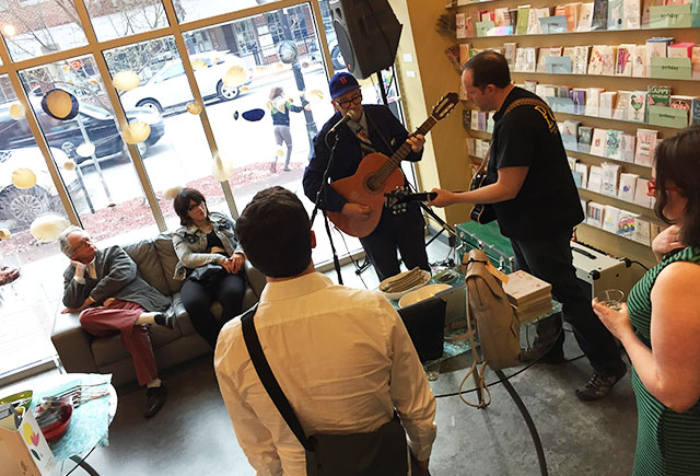 Barry Phipps performs at RSVP during Mission Boutique 2015. -- photo by Matt Steele