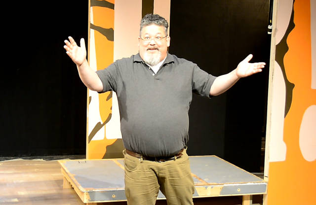 Chris Okiishi in Riverside Theatre's 'ROAR!'