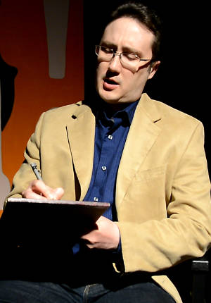 Rob Cline in Riverside Theatre's 'ROAR!'