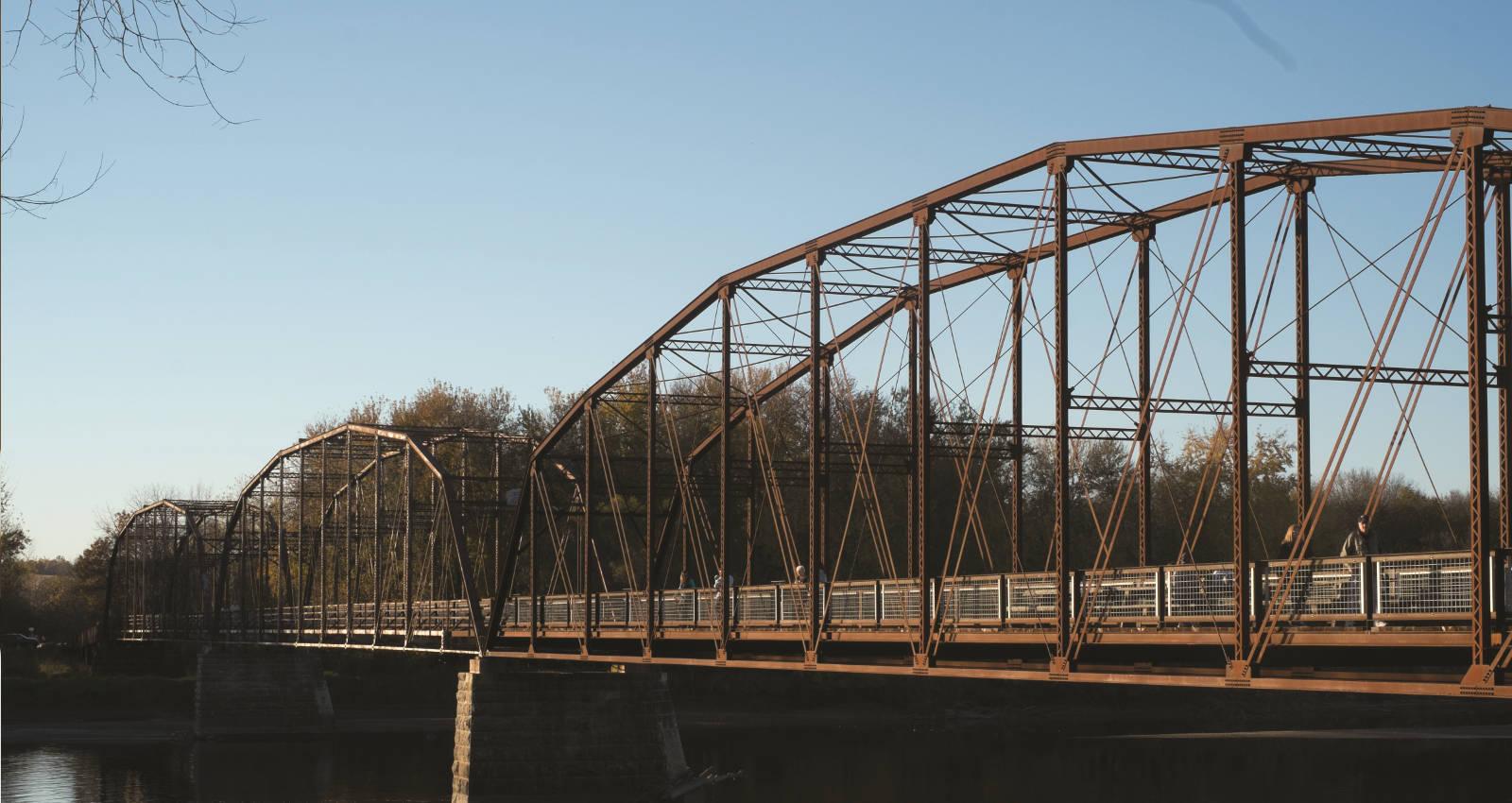 Bridge near Baxas
