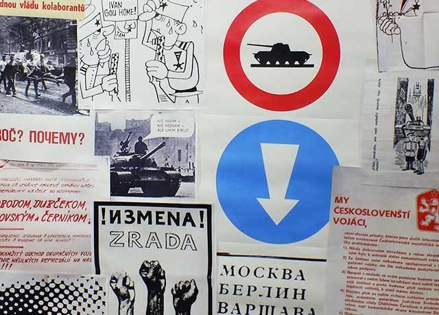 The 'Samizdat' exhibit contains thousands of artifacts from communist-era Czechoslovakia (ČSSR) -- photo by Adam Burke
