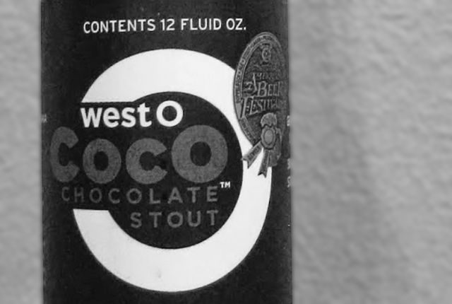 CocO Stout, brewed by West O Beer in Okoboji.