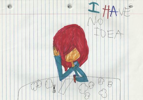 """""""No Idea,"""" by Lauren Pasbrig"""
