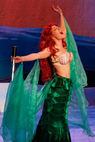 Nikki Stewart as Ariel -- photo by Struttmann Photo