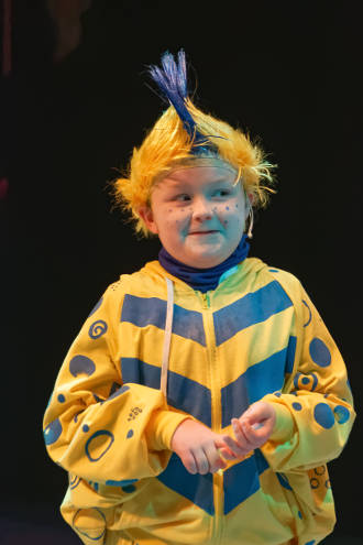 Dylan Ascher as Flounder -- photo by Strutmann Photo