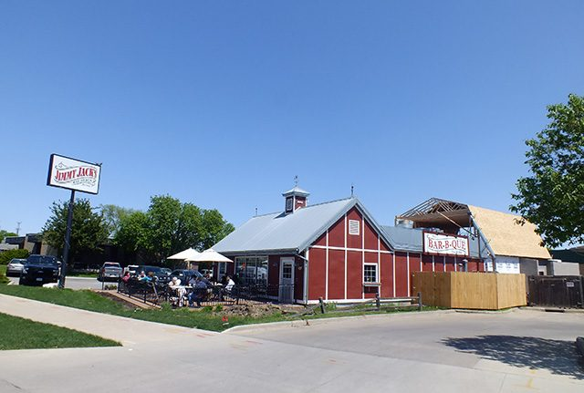 Jimmy Jack's Rib Shack is adding a barn smokehouse and sauce shop -- photo by Adam Burke