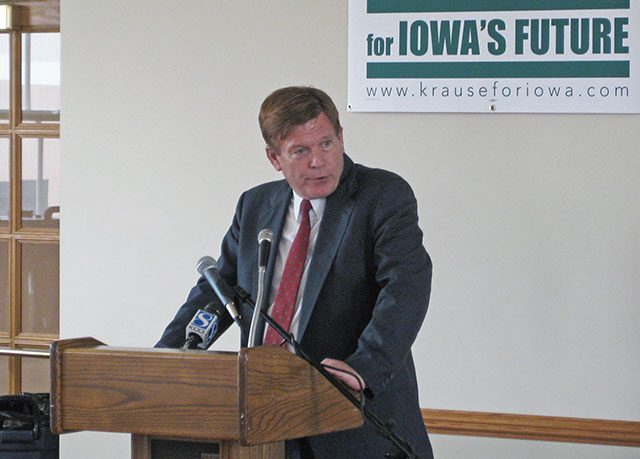 Bob Krause -- photo by IowaPolitics.com