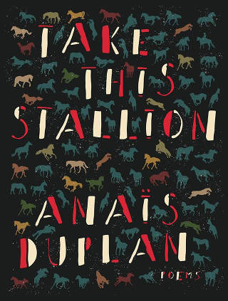 Anaïs Duplan's 'Take This Stallion' came out this month.