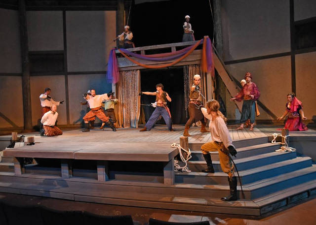 Fair Maid of the West at Riverside Theatre