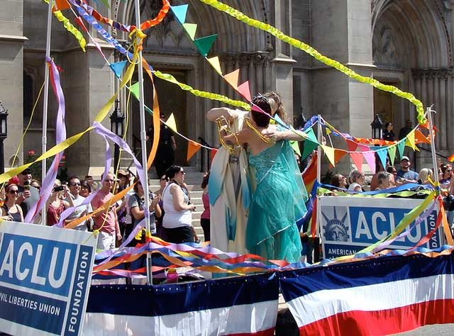 ACLU parade -- photo by Jimmy Thomas
