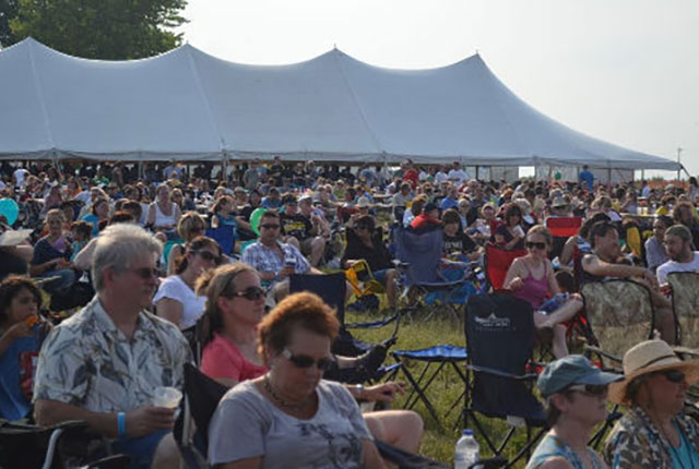 The 10th annual Blues and BBQ kicks of Saturday, July at 12 p.m.