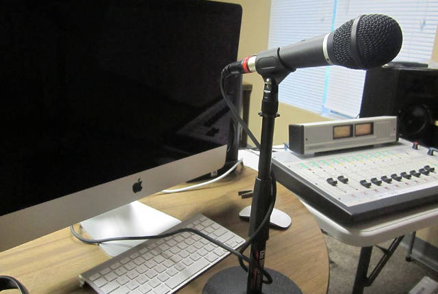 KICI 105.3 FM continues to raise funds to bring a new voice to news coverage in Iowa City -- photo courtesy KICI