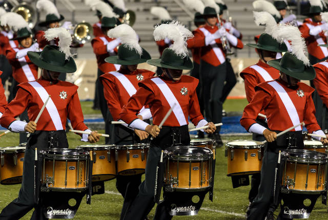 Santa Clara Vanguard's 2015 Open Class champions the Vanguard Cadets will perform at the Tournament of Drums -- photo by Robert Claypool