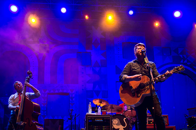 The Decemberists performing at 80/35 -- photo by Matthew Terry