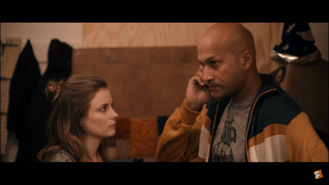 Gillian Jacobs and Keegan-Michael Key -- still from Mike Birbiglia's 'Don't Think Twice'