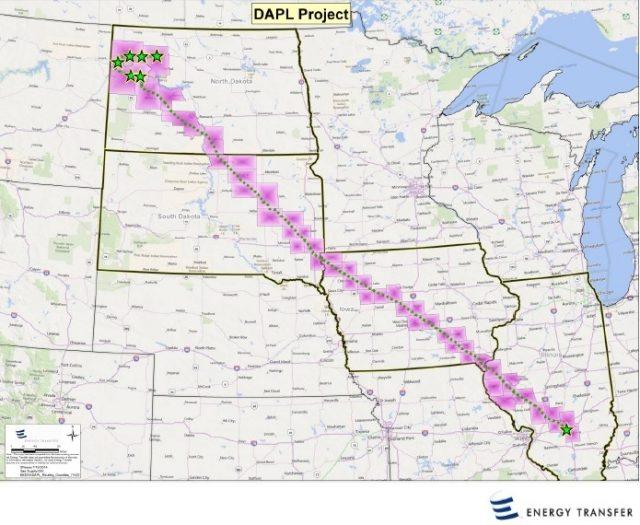 Photo courtesy of Dakota Access LLC - Iowa Utilities Board