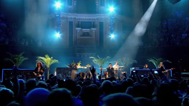Video still of the Killers from Live from the Royal Albert Hall