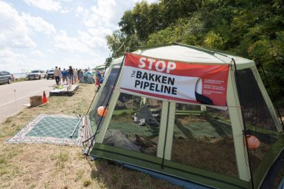 Zak Neumann, Dakota Access Pipeline, Bakken Pipeline