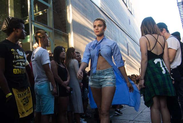 Zak Neumann, fashion show, Born Leaders United