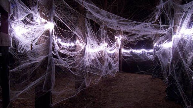 The spider pass at the original Frightmare Forest. -- photo courtesy of Circle of Ash