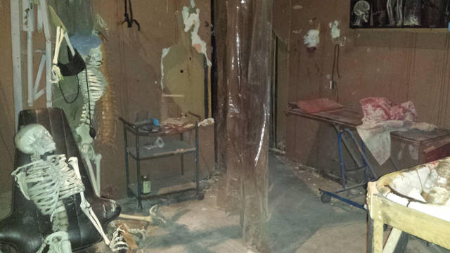 A room in the Cedar Rapids warehouse location. -- photo courtesy of Circle of Ash