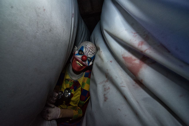 Inside Carnival Chaos at Scream Acres. Friday, Oct. 14, 2016. -- photo by Zak Neumann