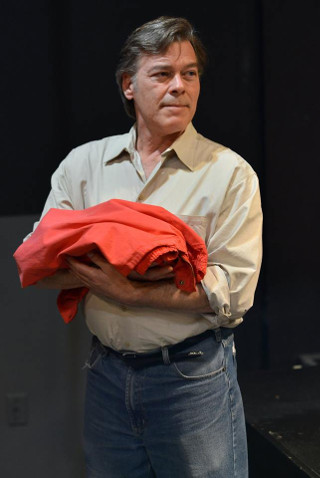 Tim Budd in 'Every Brilliant Thing' -- photo by Riverside Theatre
