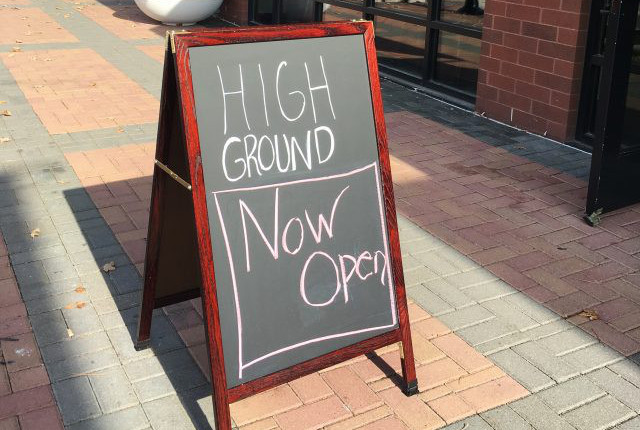 High Ground, Iowa River Landing