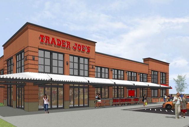 Trader Joe's will be opening a Coralville location in 2017. -- image via iowariverlanding.com