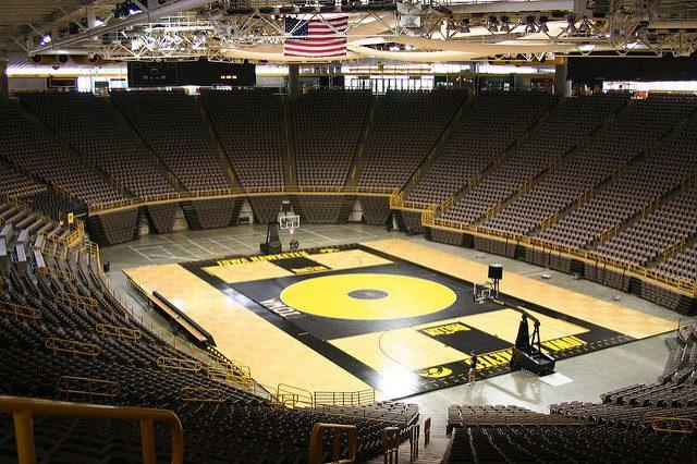 Carver-Hawkeye Arena -- photo by Steve Shupe