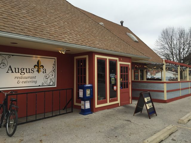 Augusta relocated to 630 Iowa Ave. after closing its original location in Oxford, Iowa. It will now close its doors again at the end of the year. -- photo by Frankie Schneckloth.