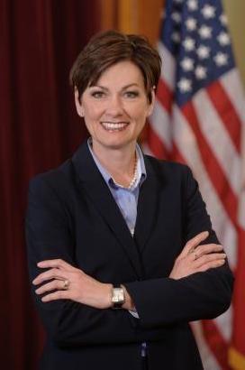Lt. Gov. Kim Reynolds -- photo via the Office of the Lieutenant Governor of Iowa