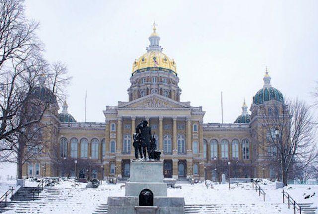 Iowa Capitol -- photo by Katie Haugland