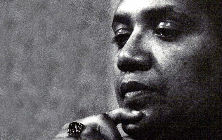 Audre Lorde. photo by K. Kendall
