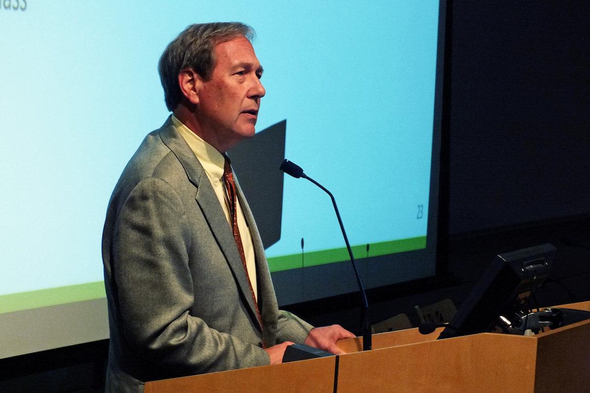 University of Iowa President Bruce Harreld -- photo by Adam Burke