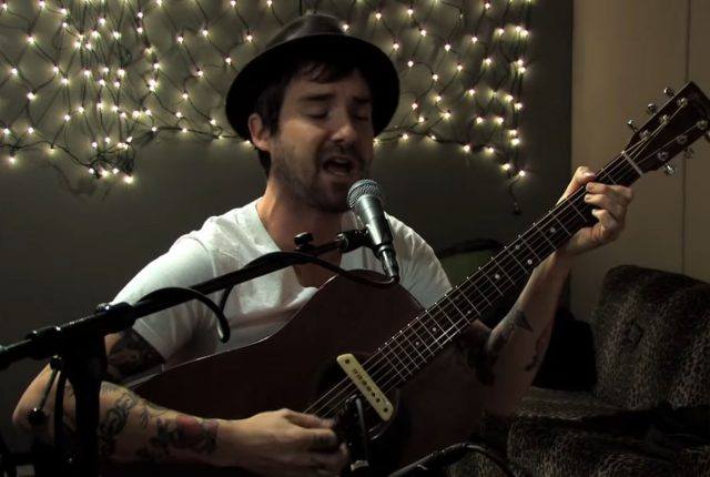 "Video still of William Elliott Whitmore performing ""Old Devils"" at KEXP."