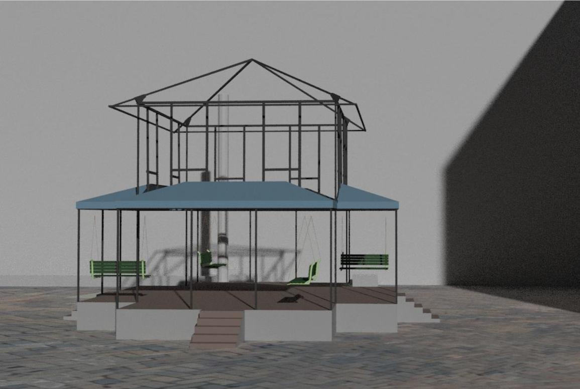 Home-like art installation coming to Black Hawk Mini Park | Little ...