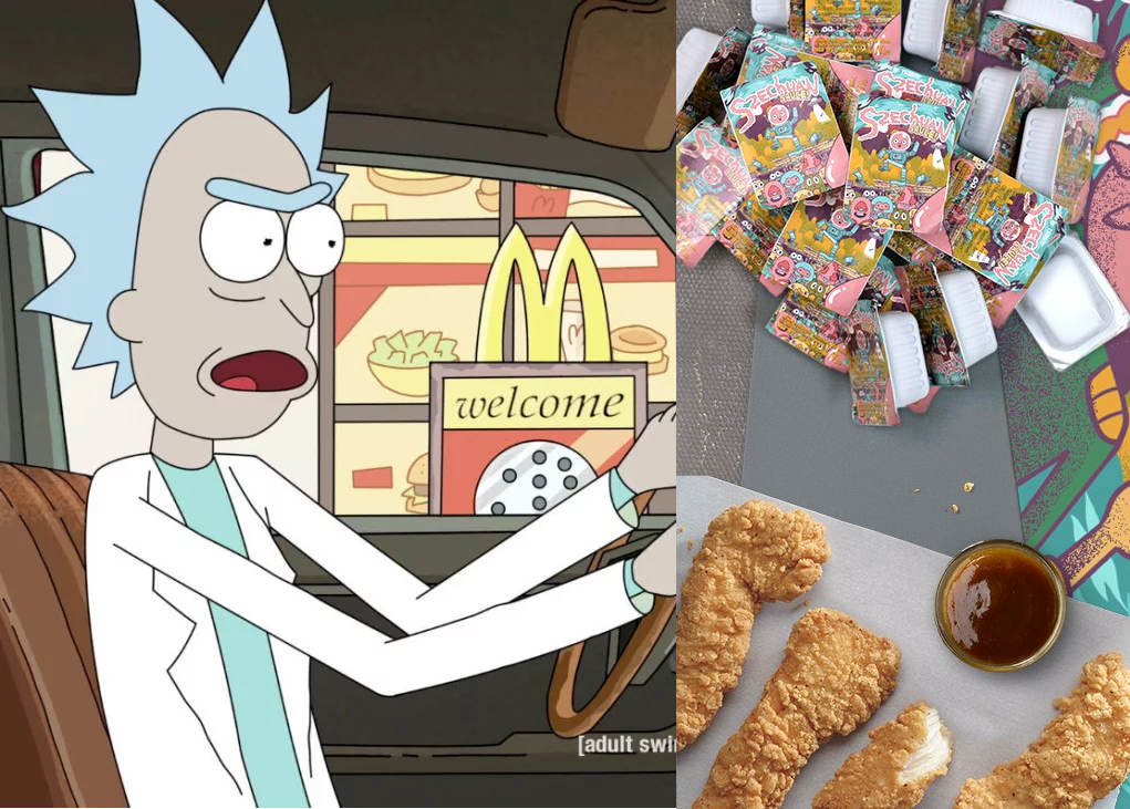 Lick & Morty: Select McDonald's serving Szechuan Sauce on Saturday