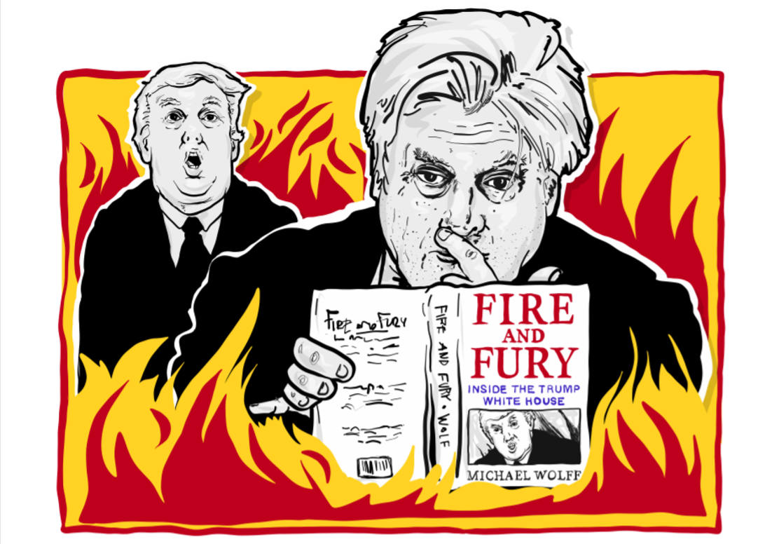 Paul Donovan reviews Fire and Fury by Michael Wolff