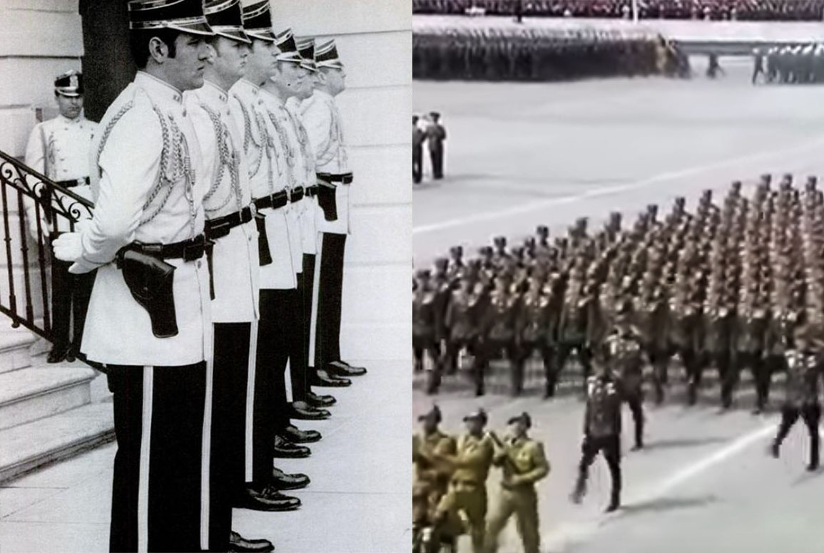 Trump's parade dreams, Nixon's new uniforms and the strange