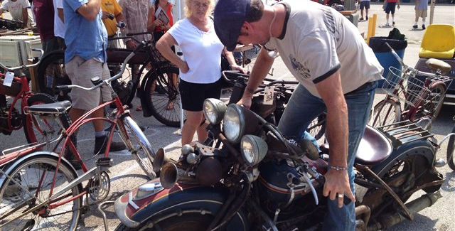 This weekend, Thursday through Sunday, is the 42nd Annual Chief Blackhawk Antique Motorcycle Club Show at the Mississippi Valley Fairgrounds in Davenport.